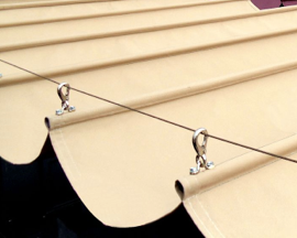 Sunbrella Slide-On-Wire Awning