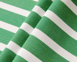 Genuine Sunbrella 58035-0000 Shore Stripe Emerald, Outdoor Fabric